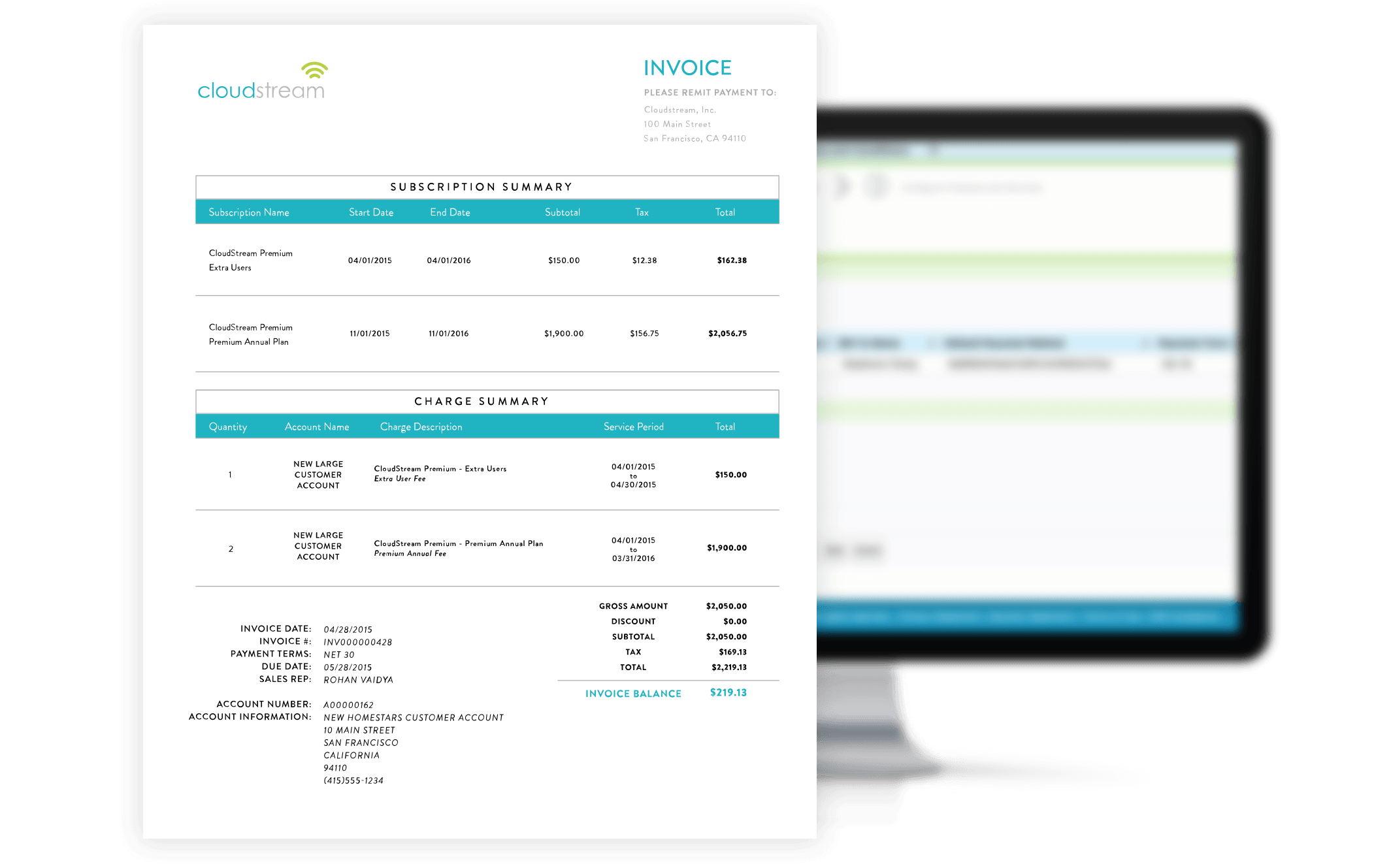 SaaS Invoicing Software Zuora - Invoice software demo