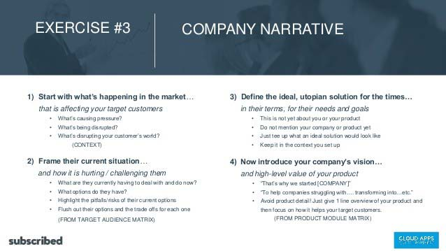Company Narrative